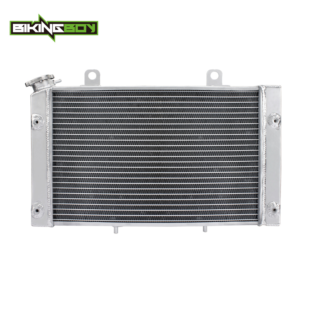 BIKINGBOY ATV Quad Aluminium Core Engine Radiator Water Cooler Cooling for YAMAHA YAMAHA Rhino 700 Rhino700 08 09 10 11 12 2013 6162 63 1015 sa6d170e 6d170 engine water pump for komatsu