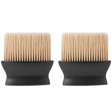 2 шт. пластиковая щетка для чистки волос 3D мягкая волокнистая щетка для мытья лица и шеи Профессиональная Парикмахерская Инструменты для салонов