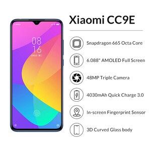 """Image 2 - Original xiaomi cc9e 4 gb 64 gb snapdragon 665 amoled celular cc 9e 6.088 """"octa núcleo 48mp ai câmera 4030 mah 4g celular"""