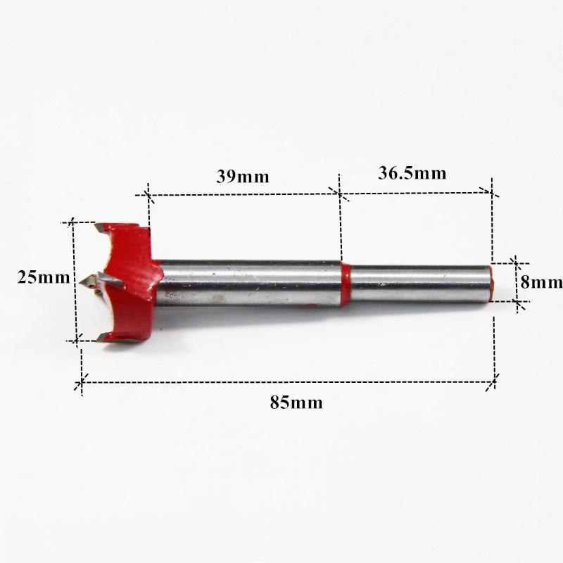 5 pcs 20-40mm TCT Forstner Foret Set Bois Trou Scie Queue - Foret - Photo 3