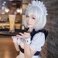 Date A Live Tobiichi Origami Touhou Project Youmu Konpaku silver white Short Cosplay Wig party wig