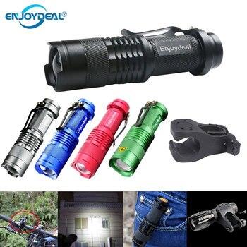 Светодиодный мини-фонарик 2000LM Q5 светодиодный фонарь AA регулируемый фонарь с фокусировкой и зумом водонепроницаемый фонарь linterna для наружн...