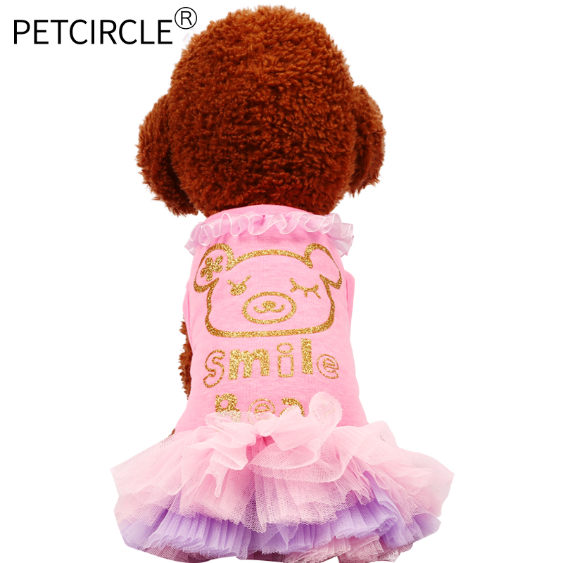 Petcircle new arrival Summer Pet Dress Tulle Dog Dresses Pet Cat Clothes Puppy Skrit Cute Spring Dress Skirt for chihuahua
