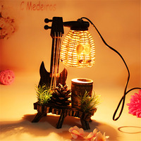 modern minimalist pastoral style new paragraph wooden Nightlight creative Home Furnishing furnishings table lamps LO8214