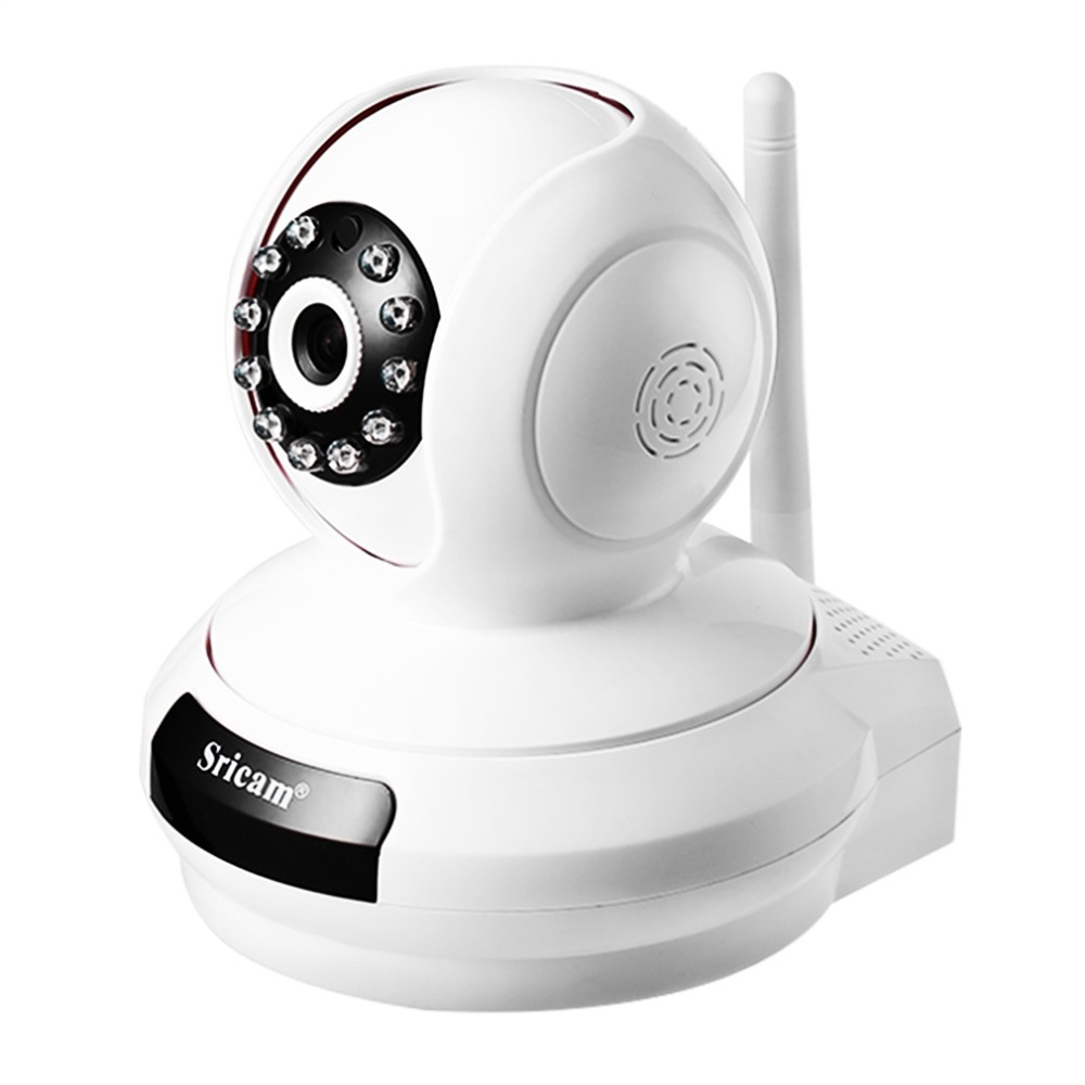 Sricam Wireless Wifi Security Camera IP Network Cam Baby Monitor Pan/Tilt Two-Way Audio Night Vision Onvif Surveillance Camera 720p ip camera wi fi pan tilt baby monitor wireless network security cctv camera plug and play two way audio day night hiseeu