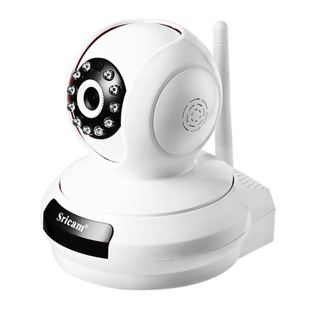 Sricam Wireless Wifi Security Camera IP Network Cam Baby Monitor Pan/Tilt Two-Way Audio Night Vision Onvif Surveillance Camera