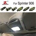 Светодиодный светильник для номерного знака для Mercedes Benz  15 шт.  для Sprinter 906  W906  автобусная коробка  светодиодный купольный фонарь для салона +...