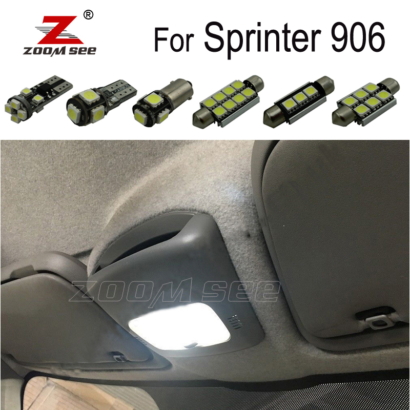 AMG Error Free LED Interior Light Kit 15pcs white for Mercedes CLC CL 203