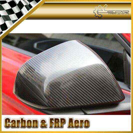 Автомобиль Стайлинг Для Ford Mustang 2015 Углеродного Волокна Зеркало Обложка (Палки От Типа)