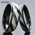 AMUMIU 1 piece price! his and hers promise ring sets, Engagement Couple Stainless Steel Forever Love Rings Lovers,men HZR006