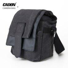 Camera Shoulder Bag Mini SLR DSLR Camera Sling Bags Photo Video Pouch Digital Waterproof Canvas Soft Bag For Canon Nikon M0 M1