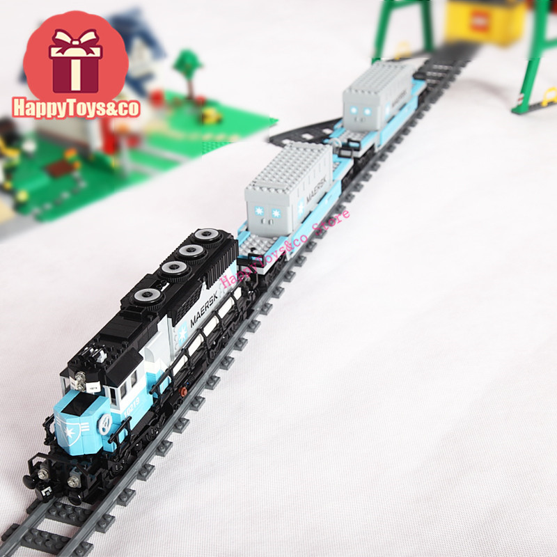 LEPIN New Technology Series 10219 1234Pcs The Maersk Train toys For Children Gift 21006 Building Blocks Set Compatible Education wange mechanical application of the crown gear model building blocks for children the pulley scientific learning education toys
