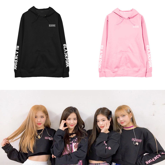 xingju K-pop BLACKPINK sweatshirt Jin Zhixiu Zhini Pu Caiying LISA concert around