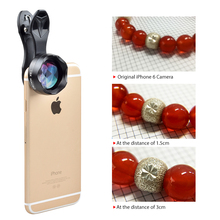 APEXEL 2017 New 18x tremendous macro Lens skilled HD tremendous macro cell phone digicam lenses for iPhone 6 7 Xiaomi Samsung HTC