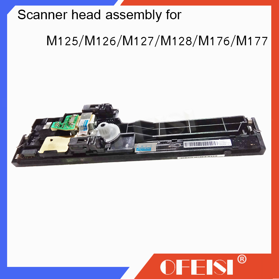 купить New original CZ181-40012 Scanner head assembly For HP laserjet MFP M125A/M125NW/M126/M128/M127FN/FP/FW/M176/M177 printer parts по цене 3590.27 рублей