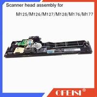 Original novo conjunto da cabeça do Scanner Para HP laserjet MFP M125A CZ181-40012/M125NW/M126/M128/M127FN/ FP/FW/M176/M177 peças da impressora