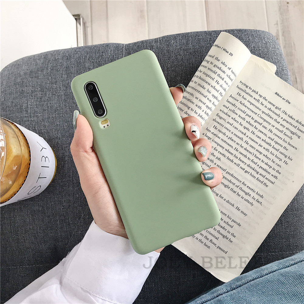 Candy Color Phone Case Cover For Huawei Mate 20 P30 pro Mate 10 20 P10 P20 Pro Nova 3 2s Honor 9 10 8X Y7 Soft Back Case fundas 11