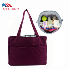 Baby Diaper Bag for Stroller Thermal Insulation Nappy Bag Mother Diaper Bags Baby Stroller Organizer Mummy Bag Liner Package