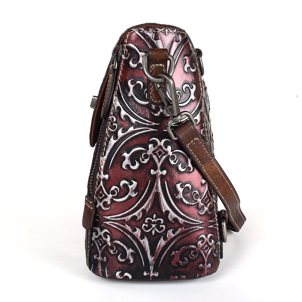 Fashion 2019 Women Hand Bag Women Vintage Brush Color Messenger Bags Female Handbag Shoulder Bag Flap Women Bag Bolsa Feminina