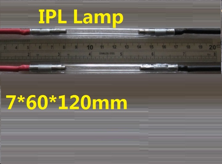 7*60*120mm beauty machine flash lamp ipl Xenon Lamp top quality 50,000 shots on averagemm ipl lamp 7 60 120mm best quality ncrieo ipl xenon lamp e light xenon bulb with wire
