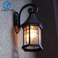 Vintage Wall Lamp Outdoor Courtyard Retro Lamps Waterproof Corridor Lamp Wall Light