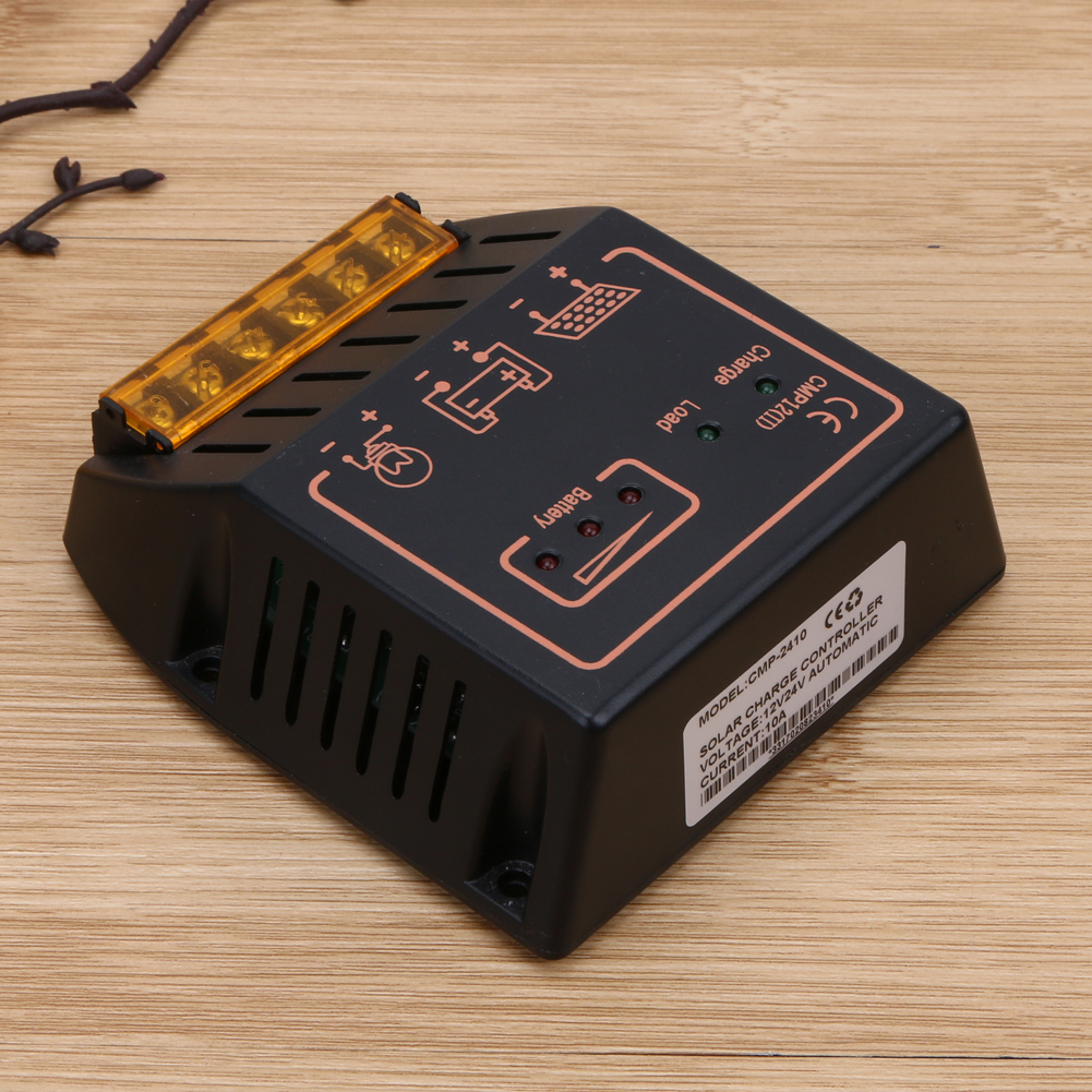 Solar Panel Charger Controller Regulator Photovoltaic Solar Panel 20A 12V/24V Solar Charge Kit PWM Controller Free Shipping