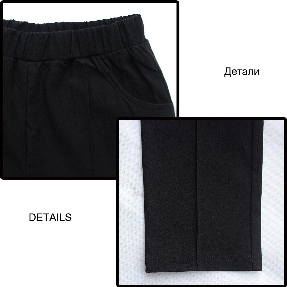 Beiläufige plus Größen-Bleistift-Hosen-Damen XXXL 4XL dünne - Damenbekleidung - Foto 5