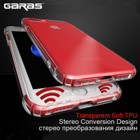 For iphone 7 6 Case,GARAS Silicon Cover For IPhone 6 Plus Case TPU Mobile Phone cover For Iphone 7 Plus 6 S Soft Silicon Cases