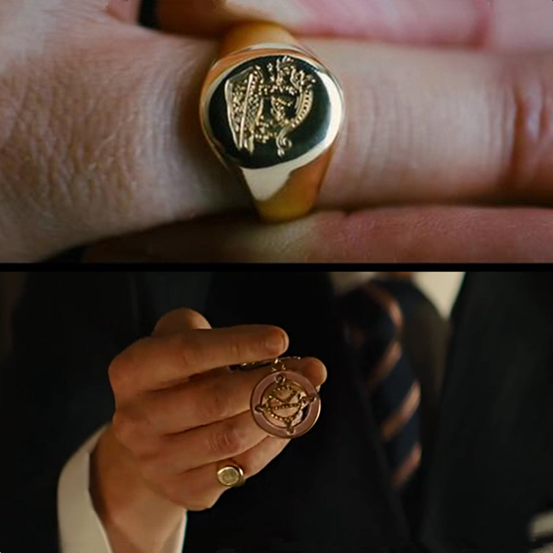 9f805bf869101 Kingsman Ring The Secret Service Custom Signet Rings For Men Women Cosplay  925 Silver Color Brass Gold Color Free Engrave Cool