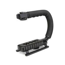 Стрелять с формы держатель ручки видео ручной стабилизатор для dslr nikon canon sony камеры стабилизатор для gopro yi 4 К