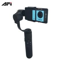 Дешевые товары из Китая afi V3 3 оси ручной Gimbal стабилизатор для GoPro 3 4 5 gitup Спорт действий Крепление камеры
