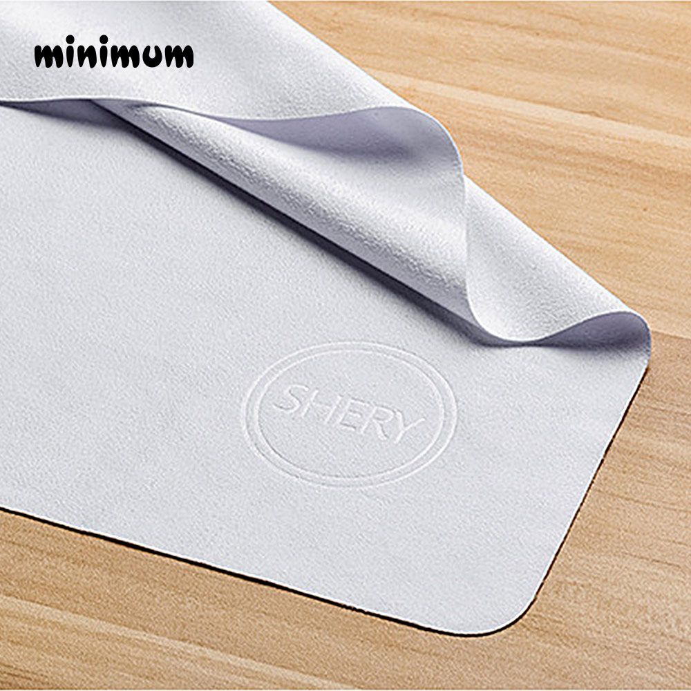 400*400mm Big Size Cleaning Cloth Chamois Microfiber Glasses Lens For Camera Phone Computer Cleaner Work Room Wipe Clothes Logo