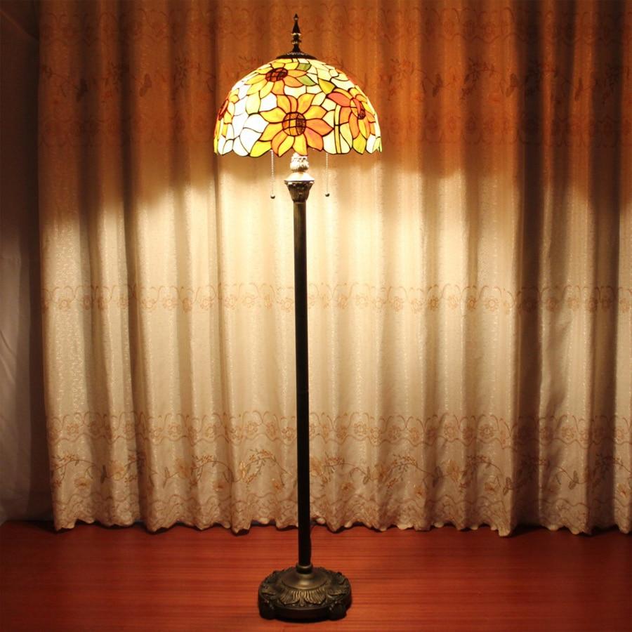160CM European retro high grade Tiffany floor lamps home ...