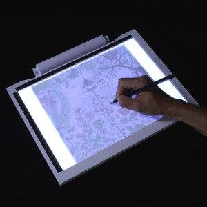 Pizarra electrónica dibujo tableta gráfica Digital Pad USB A4 caja de luz LED Placa de copia para pintar escritura