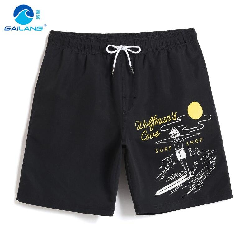 Swimming trunks Men's bathing suit   board     shorts   quick dry swimsuit joggers sport de bain homme swimwear hawaiian mesh