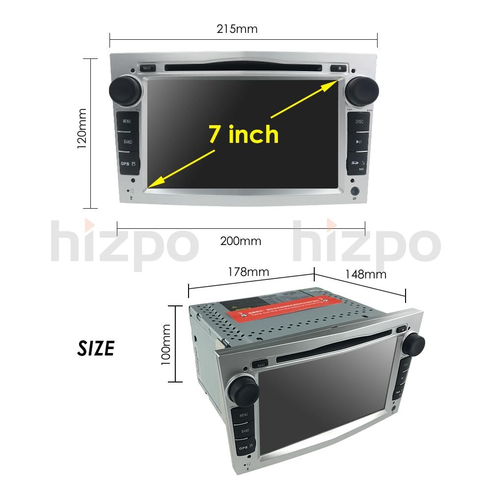 でラジオステレオ 2 Vivaro プレーヤーとオペルアストラベクトラコルサアンタラ 36
