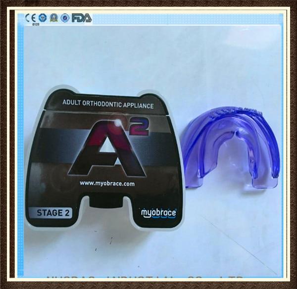 все цены на Original Australia MRC A2 Myobrace for Adult Use/A2 Orthodontic Trainer Regular Size онлайн