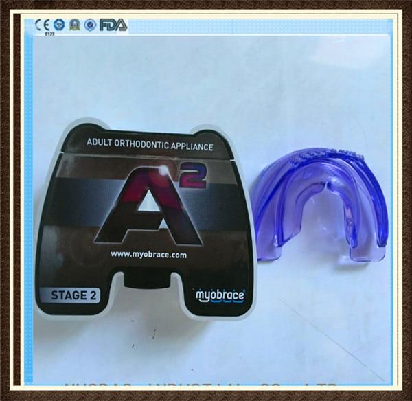 4596e63e6f Oryginalny Australia MRC A2 Myobrace do użytku dla dorosłych A2  ortodontyczne trener regularny rozmiar