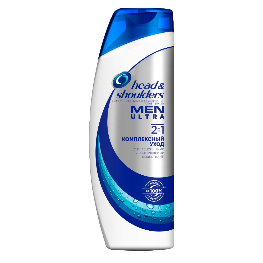Shampoo for Men Head & Shoulders Men Ultra Anti Dandruff Shampoo 2in1 Complex care 600ml