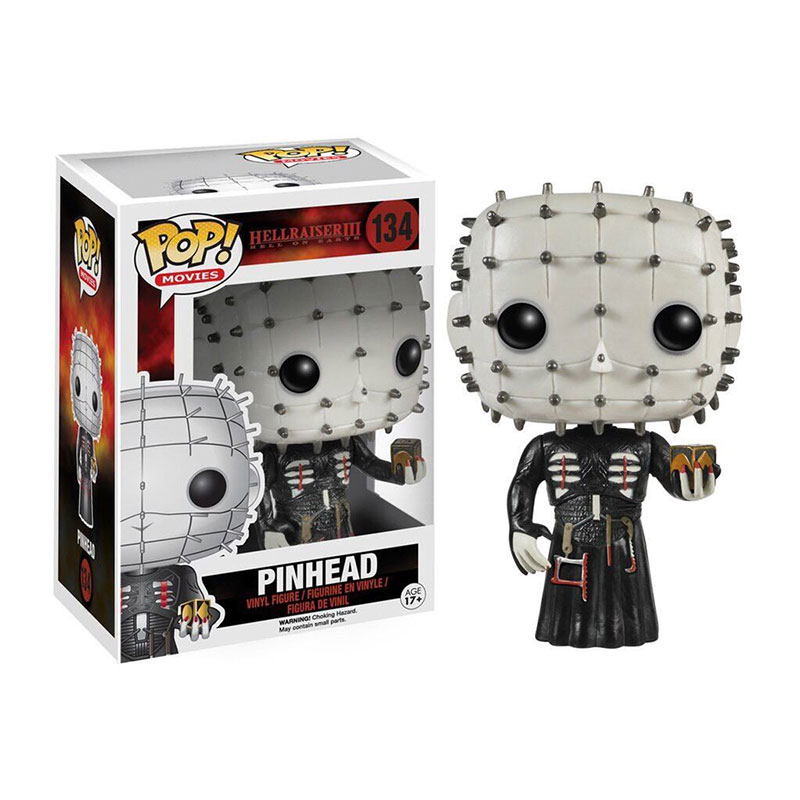 Funko pop Official Horror Movies: Hellraiser - Pinhead Vinyl Action Figure Collectible Model Toy with Original Box  funko pop official marvel doctor who dalek vinyl action figure collectible model toy with original box