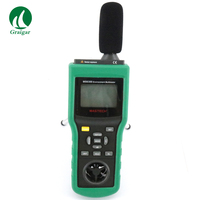 Mastech MS6300 Multifunction Environment Tester LUX/Wind/Sound/Temp/RH Tester