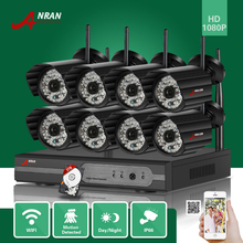 ANRAN 3TB HDD 8CH P2P HDMI 1080P WIFI NVR 48IR Waterproof Outdoor Wireless IP Camera Surveillance Security CCTV Video System