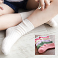 Child baby socks cashmere wool socks thermal thickening knee-high socks autumn and winter female male child sock