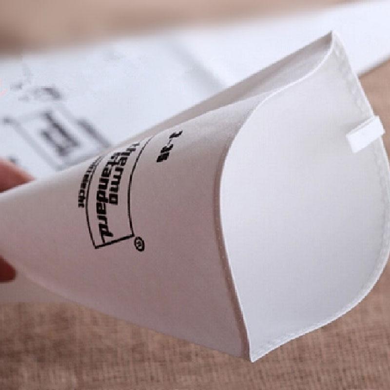 Facemile konditorejas maisiņi cepumu cepšanas cauruļu maisiņu cepšanas rīks atkārtoti izmantojams kokvilnas audums fondantu kūka dekorēšanai mīklas padeves rīks