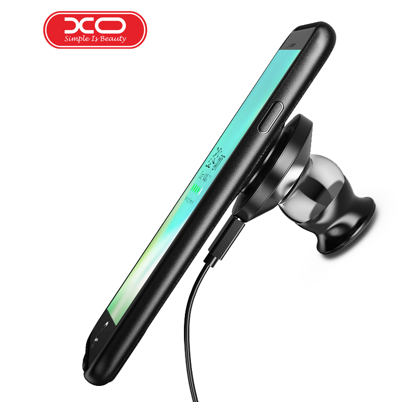 xo fast charging car holder magnetic phone case charger. Black Bedroom Furniture Sets. Home Design Ideas