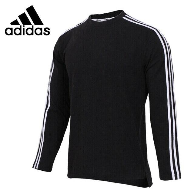 Оригинальный Новое поступление 2018 Adidas 3 S LS TEE Для мужчин пуловер Майки Спортивная