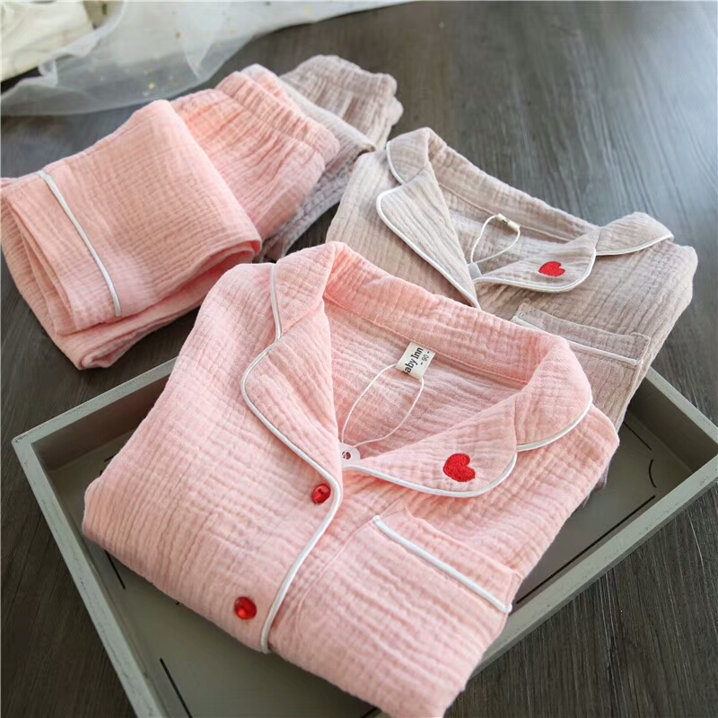 New Kids Pajamas Set Linen Baby Boy Girl Printing Pajamas Children Autumn/winter Sleepwear Infant Long Sleeves Pajamas