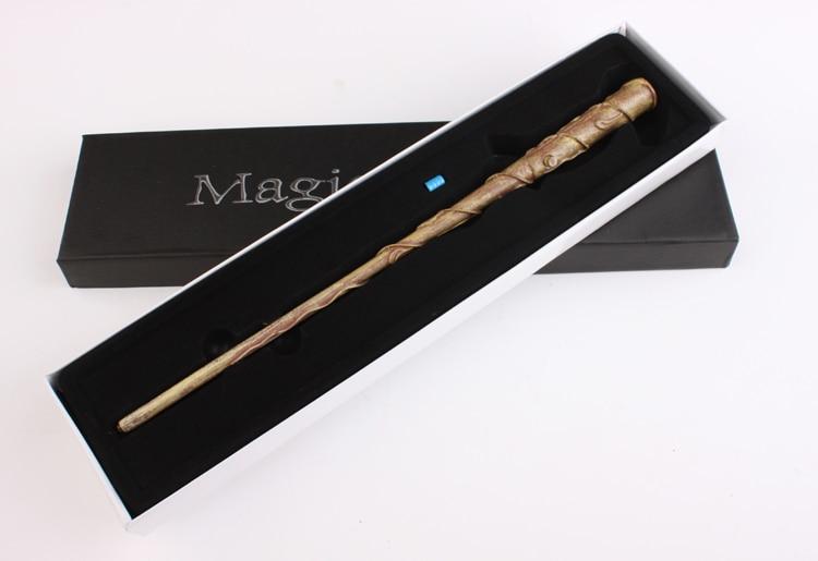 Nuevo Harry Potter Cosplay Hogwarts Hermione Granger LED Light UP medium Magic Wand Slughorn envío gratuito venta