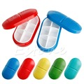 1PC Tablet Pill Storage Box Medicine Organizer Container Holder Health Care Case
