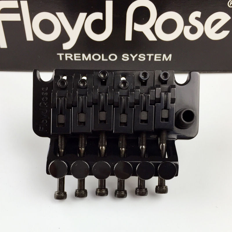 Double swing bridge Floyd Rose O2000 Original Style Tremolo System Bridge with R2/R3 Nut Black floyd rose electric guitar bridge tremolo bridge locking system gold chrome black free shipping